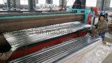 Corrguated sumergido caliente galvanizado cubriendo la hoja (0.125-0.8m m)