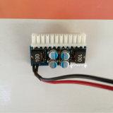 Itx auto Po del coche de la fuente de alimentación del interruptor de la C.C. 12V 160W 24pin Pico ATX mini