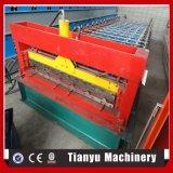 Roulis en acier de tuile de couleur de forme de feuille de toiture en métal formant la machine 1000