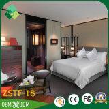 Jeu de chambre à coucher d'hôtel de suite présidentielle fait de bois solide (ZSTF-18)