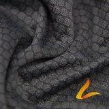 Связанная ткань Lycra Spandex полиэфира эластичная для пригодности Sportswear (LTT-2012#)