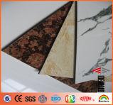 Material composto de alumínio do olhar o mais atrasado da pedra do projeto (AE-501)