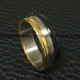 Ring de Van uitstekende kwaliteit van het Titanium van de Rotatie van de Juwelen van Shineme (TR1922)
