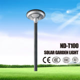 최신 판매 IP65 (ND-T100)가 CCC/RoHS에 의하여 증명서를 준 LED 태양 정원에 의하여 점화한다