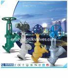 Y-Tipo válvula de dreno de /Y-Type da válvula de Quanshun Wcb de controle da pasta/válvula da amostragem