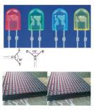 Pantalla roja del módulo de la visualización de LED del solo color al aire libre P10 para hacer publicidad