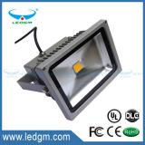 Iluminação ao ar livre da lâmpada de inundação da rua da luz de inundação do diodo emissor de luz de IP65 10W20W30W RGB