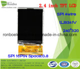 """2.4 """" écran de TFT LCD de 240X320 MCU, St7789s, 37pin pour la position, sonnette, médicale"""