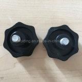 botão 5-Lobe para muitos máquina/botão métrico do plástico do parafuso de polegar