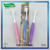 Transparente Gummizahnbürste Xingda Form-orthodontischer Pinsel