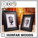 Moldura de madeira de bronze antigo para decoração de interiores