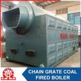 Chaudière à vapeur industrielle allumée par charbon