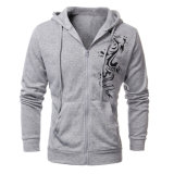 Изготовленный на заказ пуловер спортов Hoodies способа ватки хлопка людей промелькивает вверх верхнюю одежду (AL013)