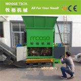 Máquina plástica tecida PP do shredder da película do PE dos sacos