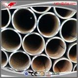 Agua negra de ASTM A53 Sch40 ERW y tubos de acero huecos de la construcción