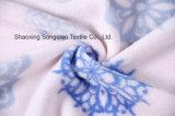 Franela impresa del poliester/tela coralina del paño grueso y suave - 16111-2 1#