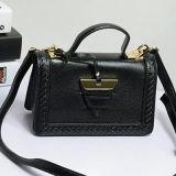 Le cuir véritable le plus neuf Messager met en sac le sac à main mou Emg4742 de femmes d'emballage de type