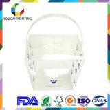 Напечатанная коробка вешалки ясности любимчика PVC упаковывая