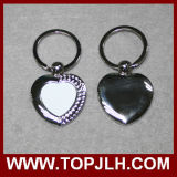 Kundenspezifisches Firmenzeichen-Marken-Metalsublimation-Leerzeichen Keychain