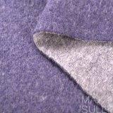 Tessuti delle lane di 100% con colore viola, liscio e morbido