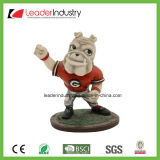 昇進のギフトおよび記念品のギフトのための樹脂のクラフト犬のBobbleheadの手塗りの彫像