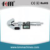 1-2 '' micrómetros electrónicos del V-Yunque del indicador digital con 3 flautas