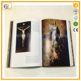 A impressão barata do livro de Hardcover com projeta
