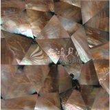 De hete Shell van de Zwabber van de Lip van de Verkoop Bruine Tegel van het Mozaïek van de Moeder van Parel voor de Muur van de Decoratie