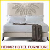 Base tapizada cuero de /Platform de los muebles del dormitorio del Faux