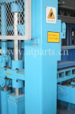 Máquina pequena do bloco de motor Diesel da argila da imprensa da mão e de fatura de tijolo