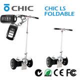 Scooter électrique de planche à roulettes de vol d'équilibre de scooter d'Eco de modèle neuf avec le traitement pliable