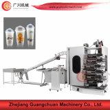 3-6 stampatrice di plastica della tazza di colore con il conteggio automatico