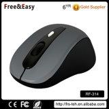 カスタムカラー携帯用光学2.4G 4ボタンの無線電信マウス
