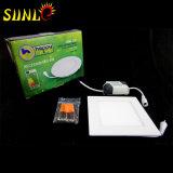 Quadratische LED-Panels für flaches Licht des Verkaufs-LED