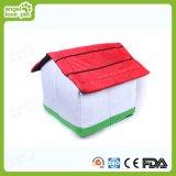 Base da forma da casa do algodão, produto do animal de estimação