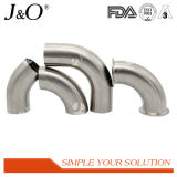 Sanitary Stainless Steel 45D Long Elbow