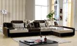 1+2+3 modernos sofá real clássico da sala de visitas (HX-FZ049)