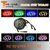 방수 18X10W RGBW 급상승 LED 동위 빛