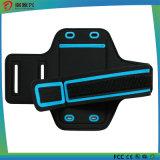 Fasce di manopola del silicone di sport esterni LED per il telefono mobile