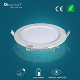blanco caliente LED de la lámpara redonda del techo de la luz del panel de 9W LED