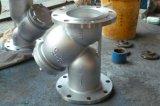 304/316 de tipo sanitário filtro do aço inoxidável Y com extremidade da flange