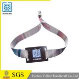 Kundenspezifisches Ereignis etikettiert FestivalRFID gesponnene Wristbands