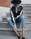 2017 Hot Fashion Nylon Mesh Custom Fishnet Tights Socks