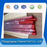 Fait dans le tube en aluminium expulsé noir de Jiangsu Chine