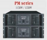 Amplificador audio 2*1350W (P.M. 1350) del poder más elevado del sistema