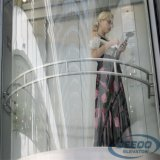 Lift van de Passagier van de Lift van het Huis van het glas de Kleine Elektrische Woon