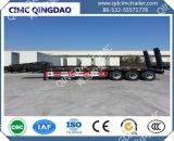 Cimc Flatbed Semi Aanhangwagen van het Merk 2/3axles 40FT