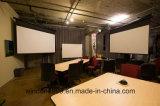 """4: 3 100 """"ホーム、オフィス、教育のためのモーターを備えられたプロジェクタースクリーンのElectriceの映写幕"""