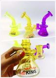 """الصين زجاجيّة [سموك بيب] مصنع بيع بالجملة 7 """" مصغّرة [تثب غلسّ] [بنجر] علاّق"""