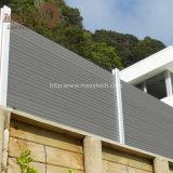 Fornecedor de China Madeira-Como a cerca de segurança impermeável do alumínio WPC para o jardim